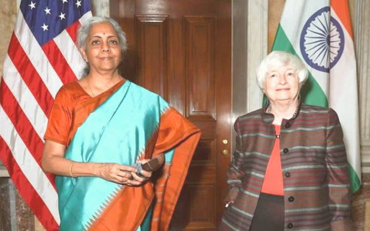 8th ministerial meeting of India-USA Economic & Financial Partnership Dialogue held in Washington DC