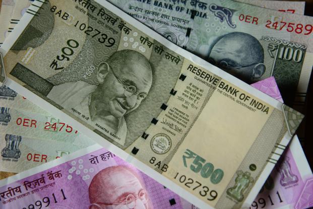 Rupee climbs 5 paise against dollar