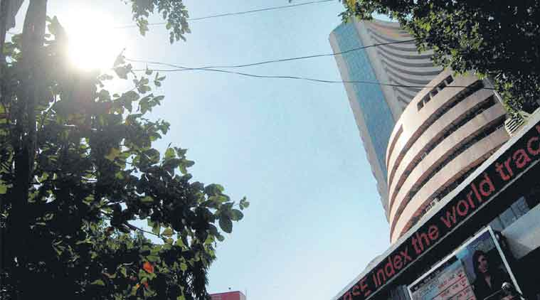 Sensex falls 73 points on weak data, global cues