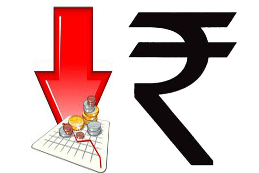 Rupee closes down 4 paise at 64.44 ahead of Fed call