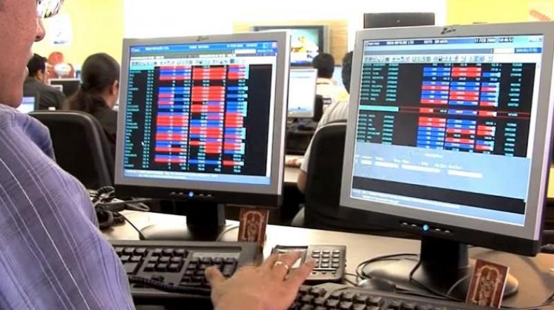 Sensex back to positive ways amid derivatives expiry