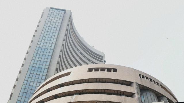 Sensex soars 105 points on global cues