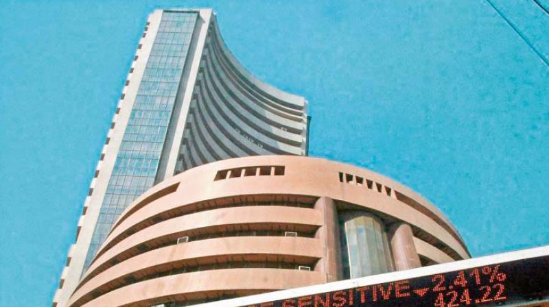 Sensex jumps over 100 points