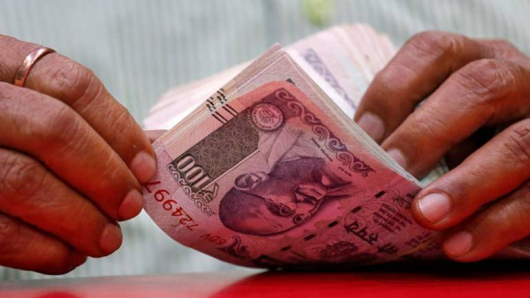 Rupee rises 20 paise against US dollar