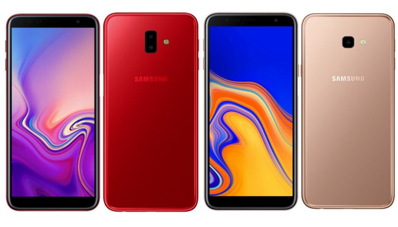 Samsung Galaxy J6+ and Galaxy J4+ launched: price, specifications and more