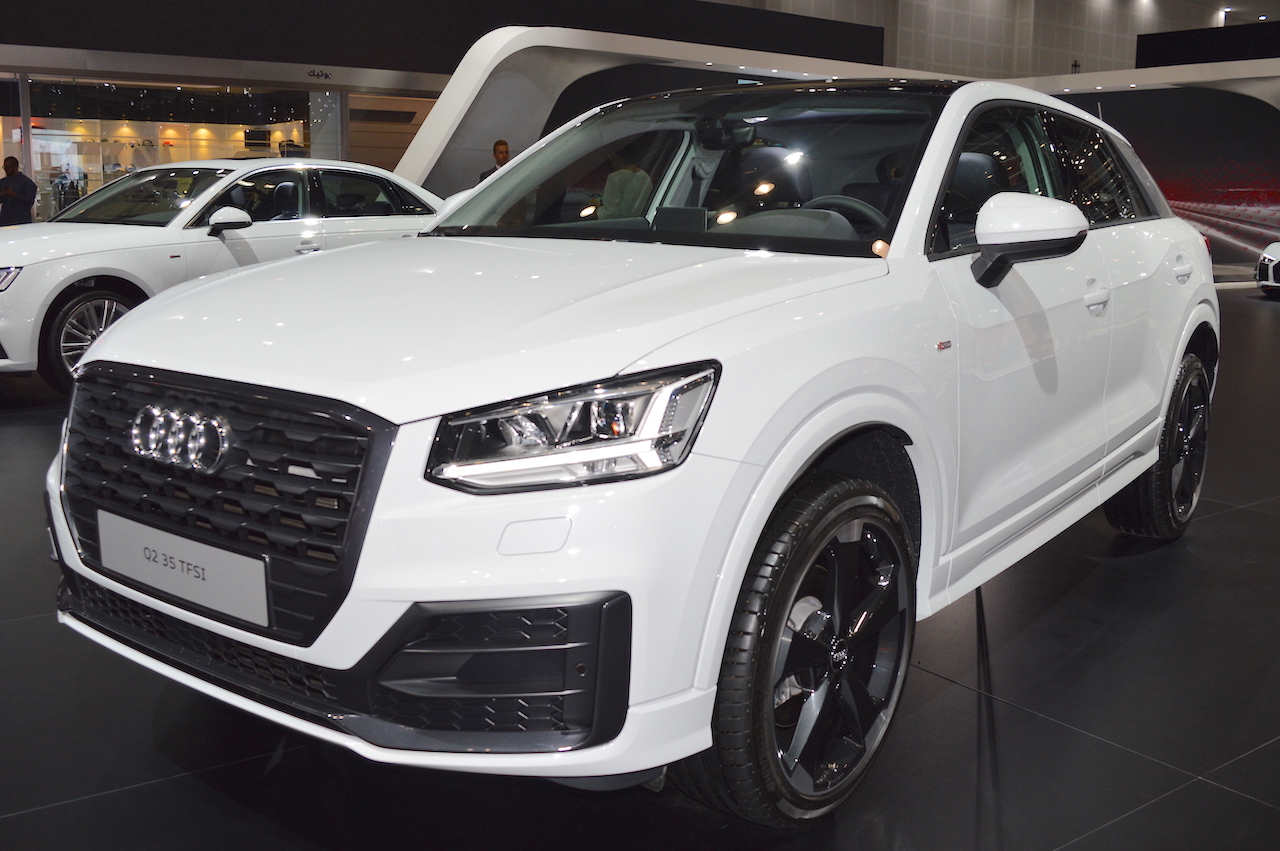 Audi launches SUV Q2 in India
