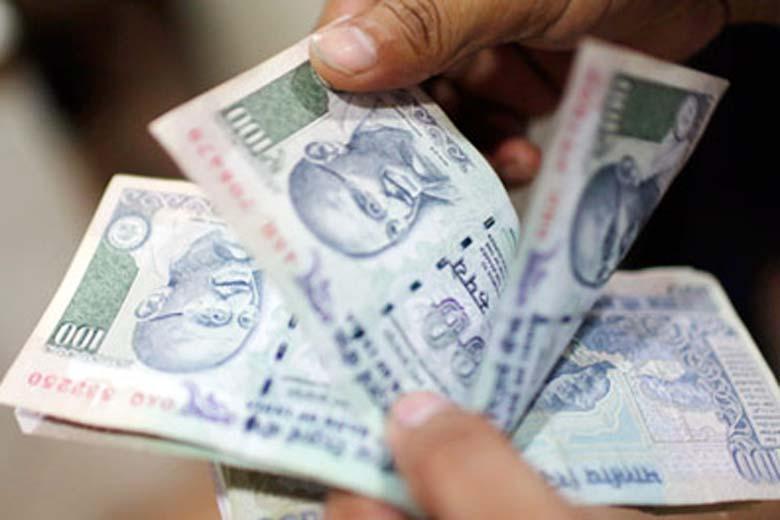 Rupee drops 17 paise against US dollar