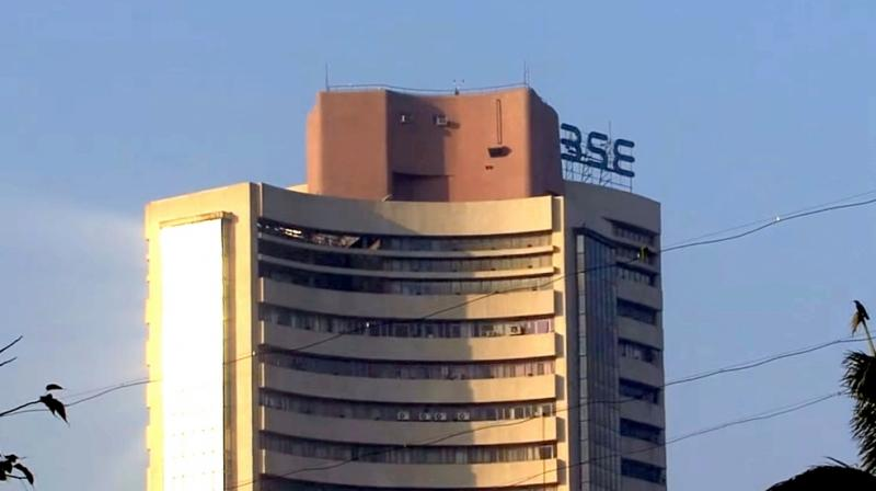 Sensex soars over 350 points on global cues