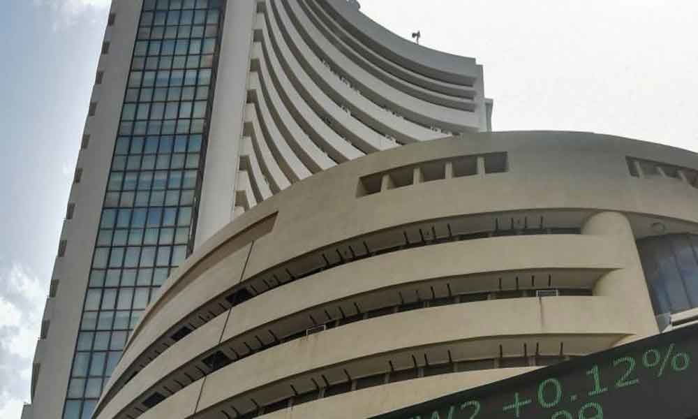 Sensex jumps over 150 points