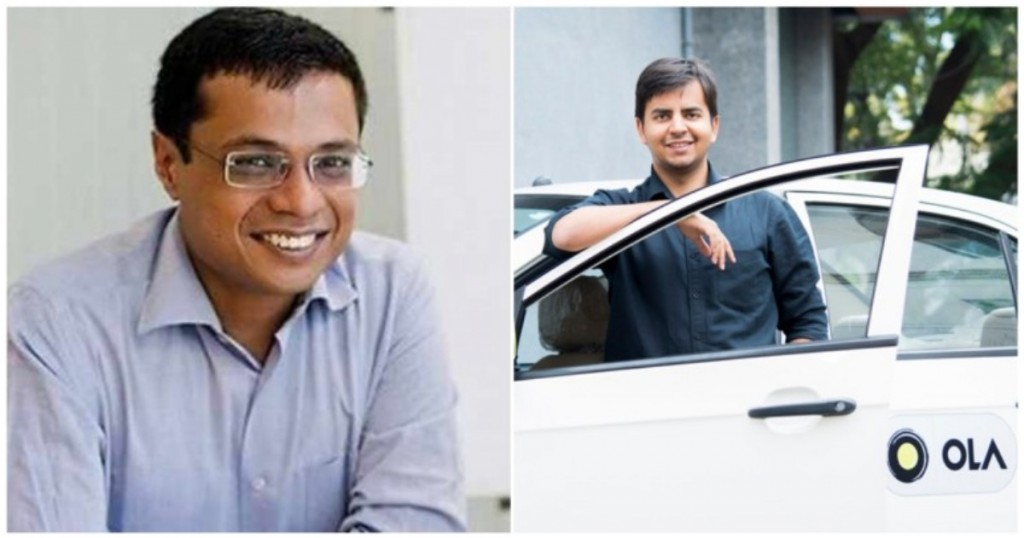 Flipkart co-founder Sachin Bansal invests Rs 150 crore in Ola