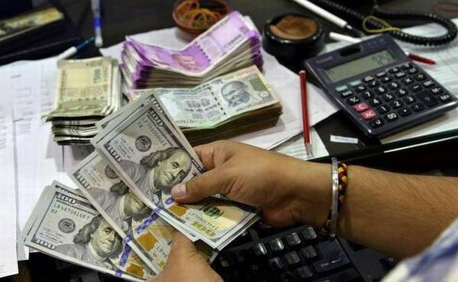 Rupee hits new low of 74.13 plunges 55 paise against US dollar