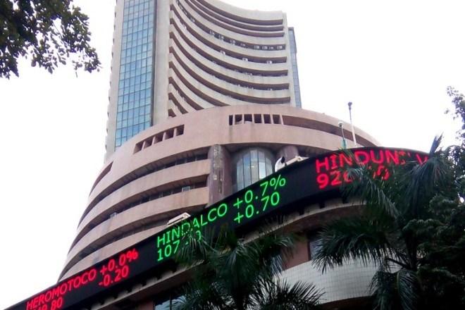 Sensex cracks nearly 300 points
