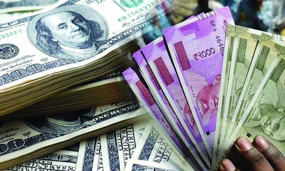 Rupee rises 8 paise against US dollar