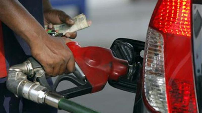 Petrol price hiked by 1.29/litre; diesel by 97 paise