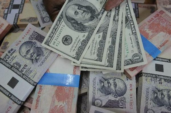 Rupee drops 7 paise against dollar