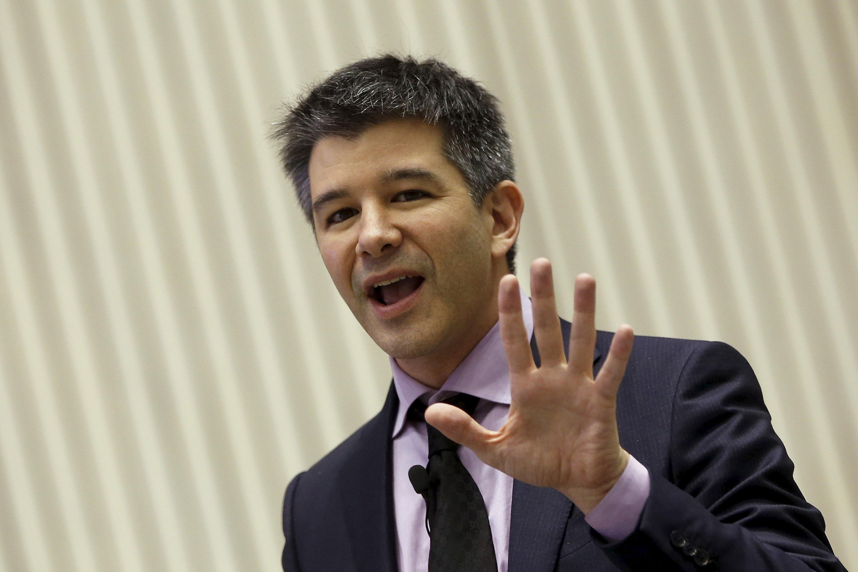 Travis  Kalanick gives in to shareholder pressure, quits as Uber CEO