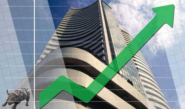 Sensex scales record high in early trade