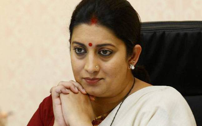 Exports of jute products rise by 24% since 2014: Smriti Irani