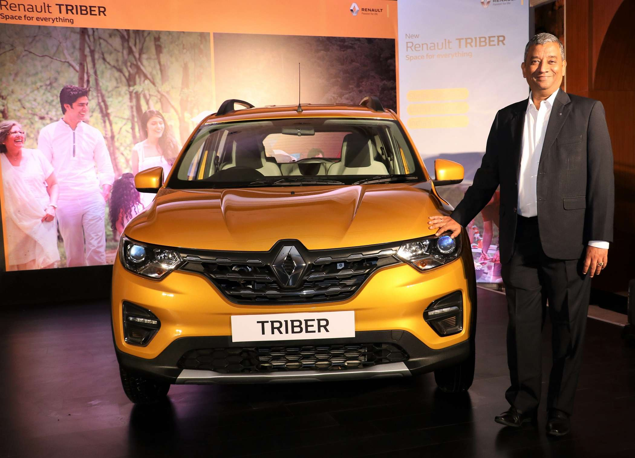 Renault launches Triber priced up to Rs 6.49 lakh