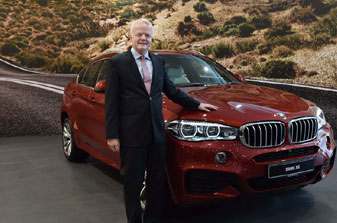 BMW launches  car  X6 Sports Activity Coupe at Rs.1.15 crore