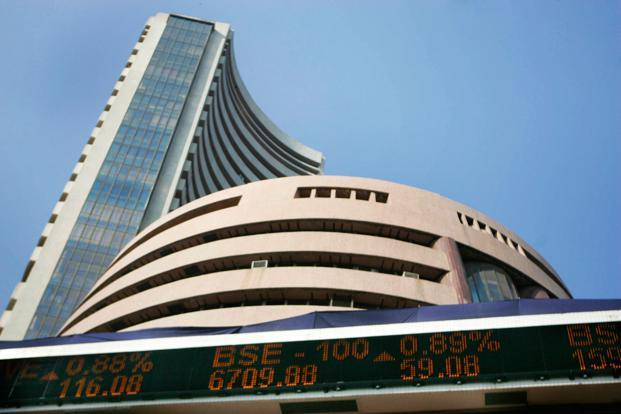 Sensex hits record high in early trade