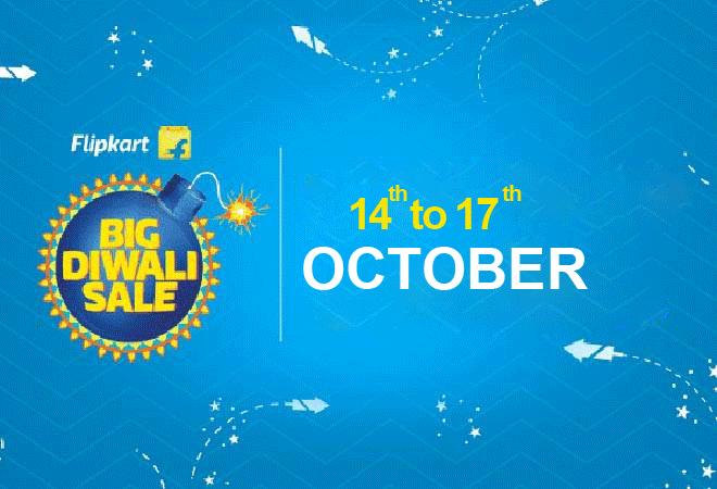 Flipkart Big Diwali Sale will Starts on October 14 and end on October 17