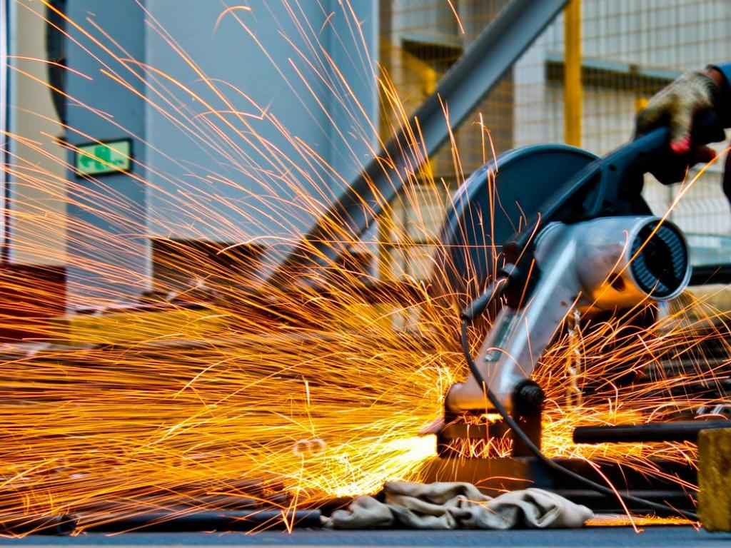 Industrial output declines by 1.1% in August