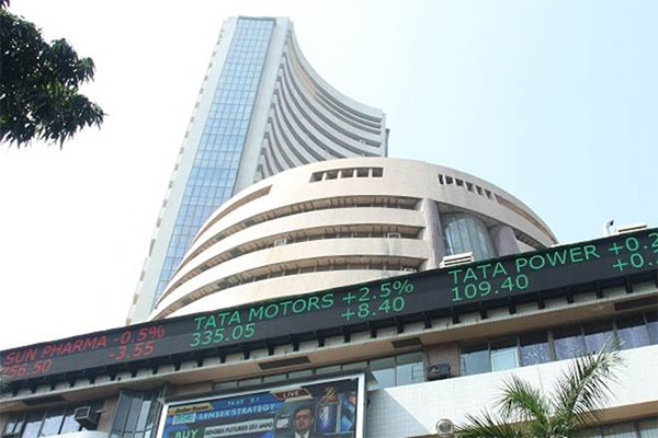 Sensex soars 233 points in early trade