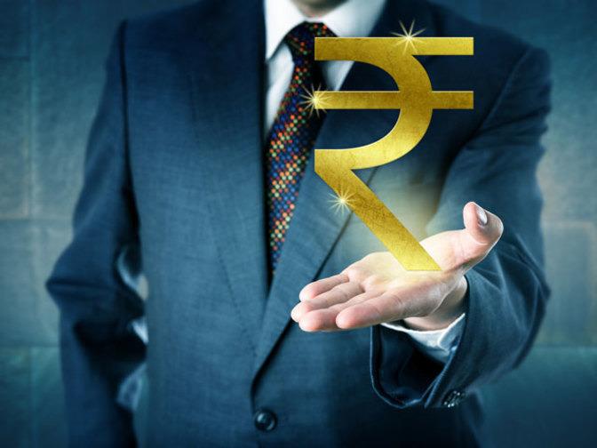 Rupee jumps 10 paise against dollar