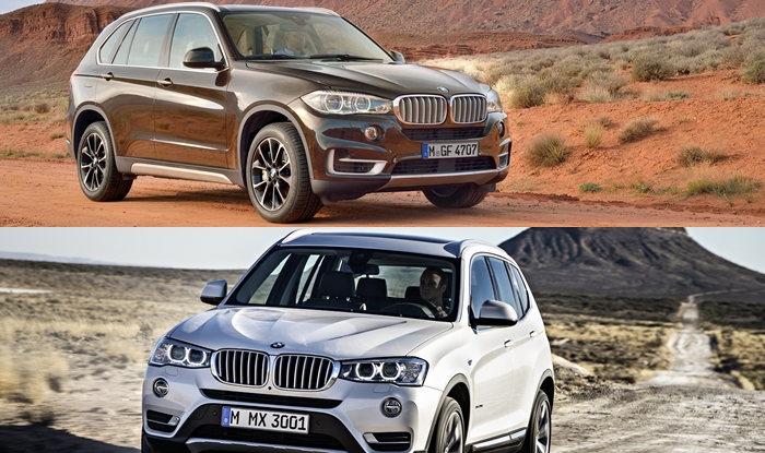 BMW launches X3,X5 models in India