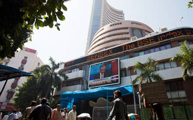 Sensex extends losses, down 64 points in early trade today