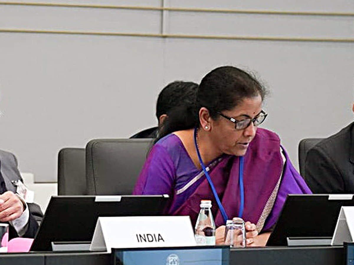 FM N Sitharaman discusses simplification of GST forms