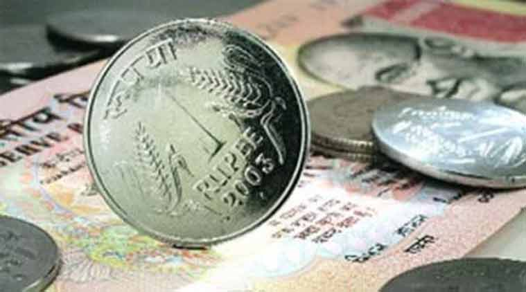 Rupee spurts 22 paise against dollar