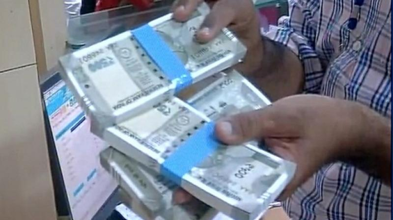 Govt launches new Rs.500 notes