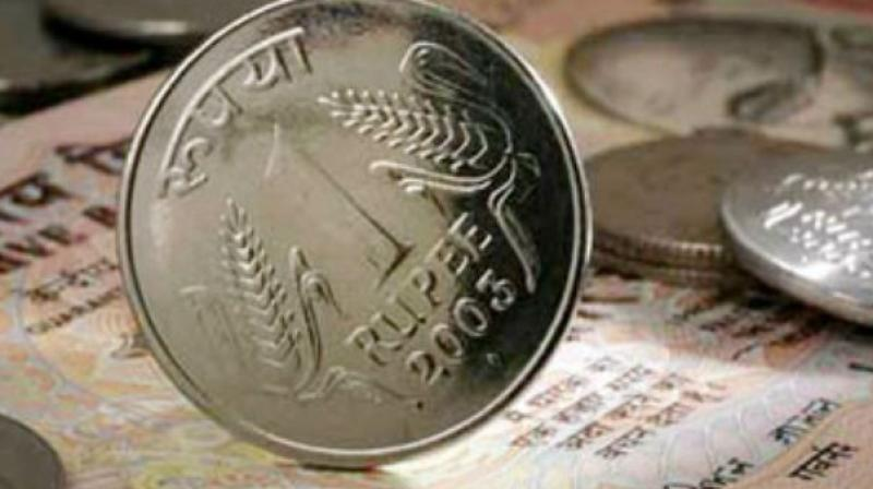 Rupee rebounds by 8 paise in early trade