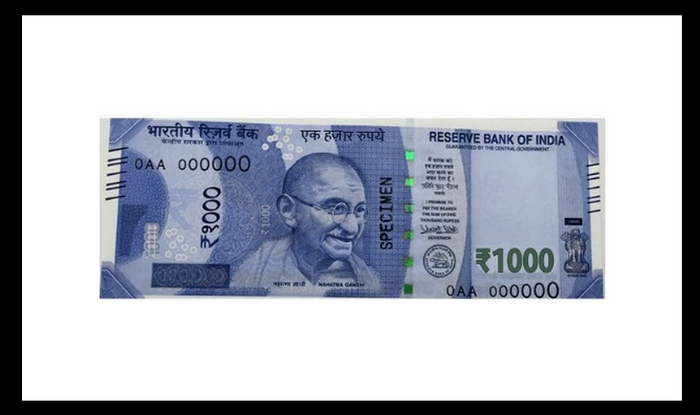 New-look Rs.1000 notes to be out soon