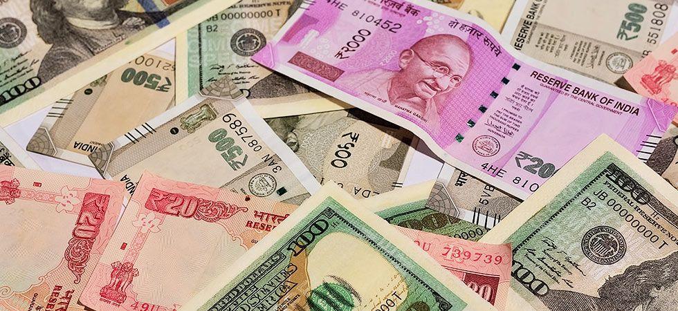 Rupee slips 37 paise against US dollar