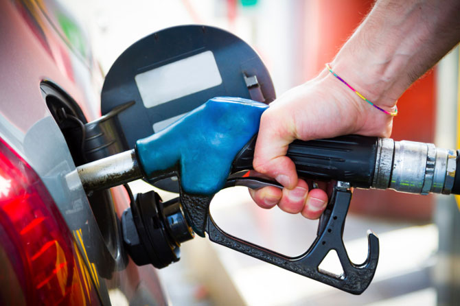 Petrol price hiked by 42 paise/litre, diesel by Rs.1.03