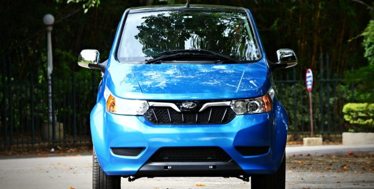 Mahindra launches electric car