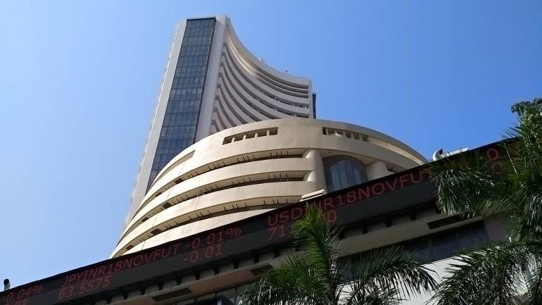 Sensex jumps over 100 points; Nifty nears 11,900