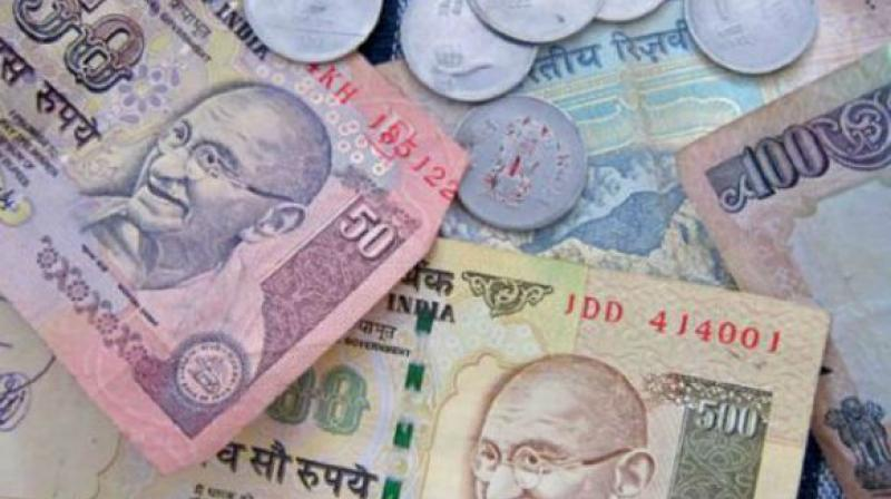 Rupee softens 5 paise against dollar in early trade