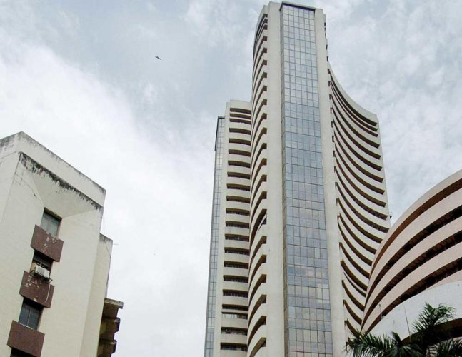 Sensex rises over 100 points on positive global cues