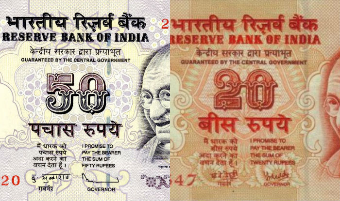 RBI to soon issue Rs.20, Rs.50 notes