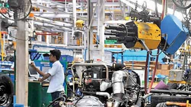 Industrial output slips to 4-month low