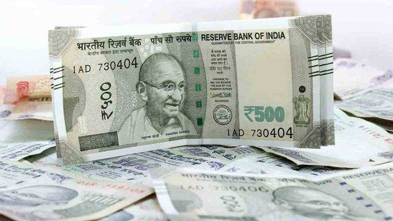 Rupee falls 34 paise against US dollar