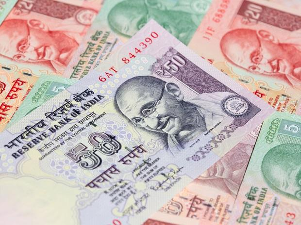 Rupee slips 8 paise against US dollar