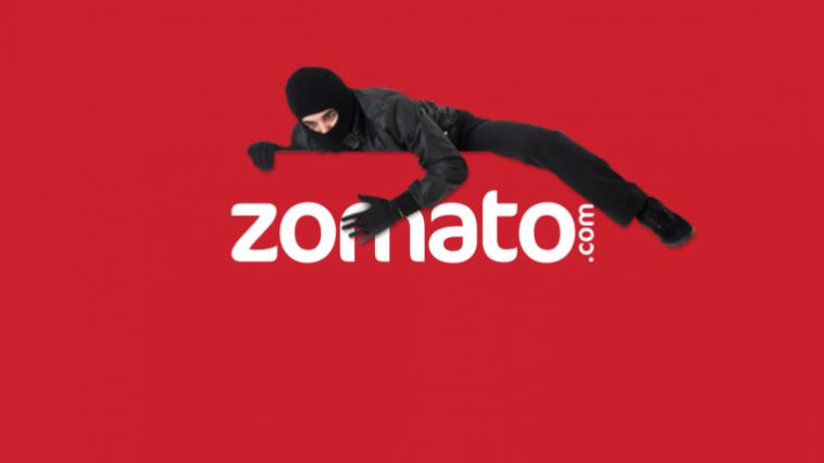 In A Massive Data Breach, 17 Million Zomato Accounts Compromised