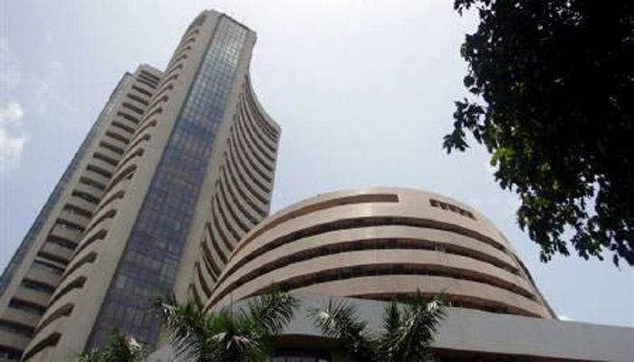 Sensex climbs 300 points on positive economic data