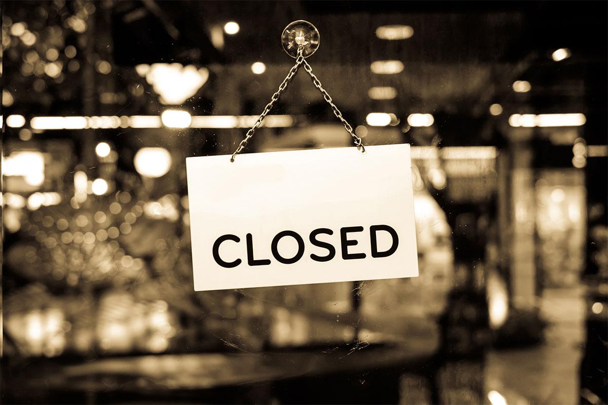 All major financial markets closed today
