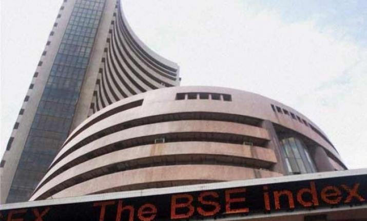 Sensex slips 71 points on negative economic data